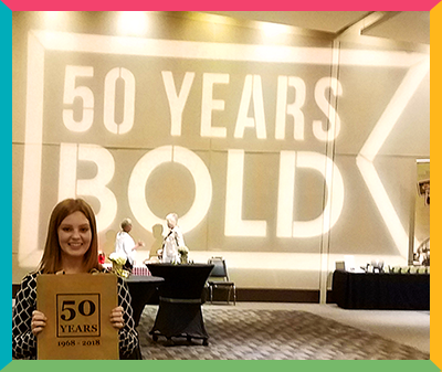 WSAE Annual Convention 50 Years Bold