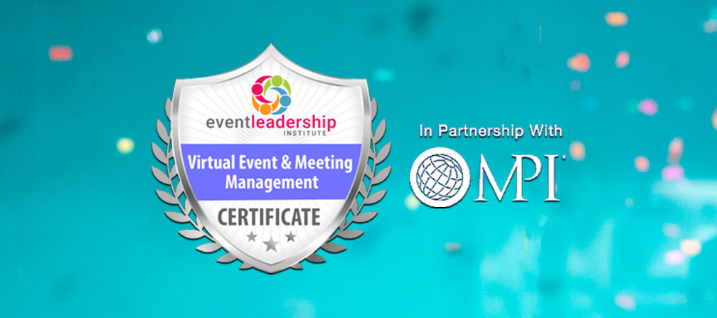 Virtual Event and Meeting Management Certificate